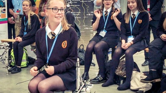 'STEM Jobs for the Girls' at RAF Leeming Engineering Challenge