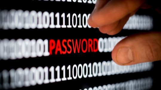 Password Cyber Crime Keyboard Fraud Online Scams Defence Imagery