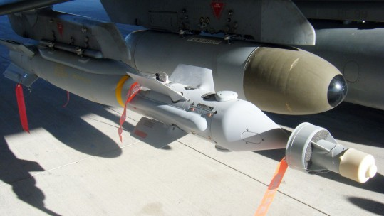 RAF Targets IS With Laser-Guided Bombs