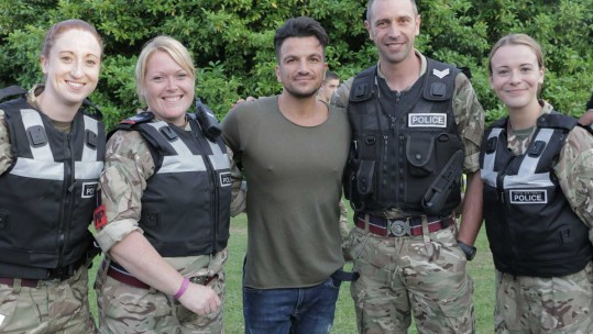 Peter Andre At RAF Marham Family Day 2016