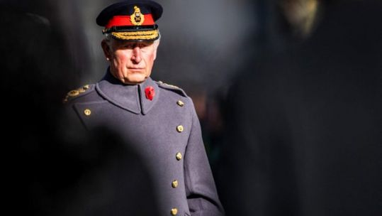 Cover image: Prince Charles during the National Service of Remembrance in 2018 (Picture: MOD).