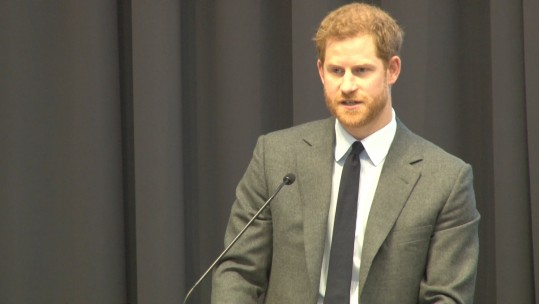 Prince Harry mental health speech