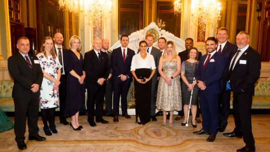 Prince Harry And Meghan Attend Endeavour Fund Awards Credit Endeavour Fund