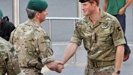 Prince Harry & Martin Smith