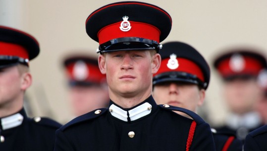 Prince Harry Sandhurst Sovereign's Parade