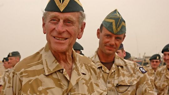 Duke Of Edinburgh: When Prince Philip Watched Japan's 1945 Surrender
