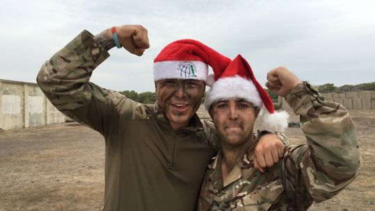 Pte Green & Pte Arendall - 2 Mercian: Christmas Messages 2018