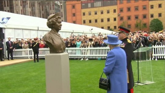 Her Majesty The Queen Visits The Honourable Artillery Company