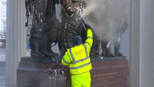 RAF Bomber Command being cleaned