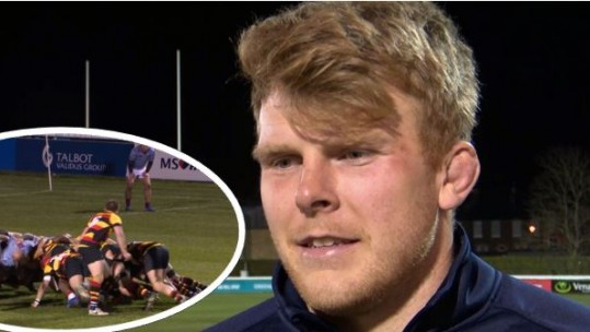 RAF & London Irish rugby star Josh McNally
