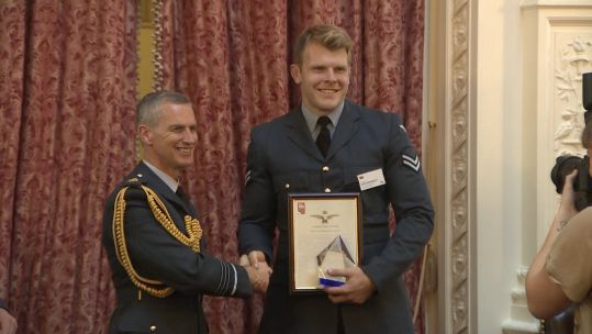 RAF SPORTSMAN OF THE YEAR 2018