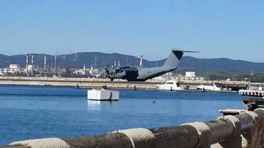 RAF Plane Stopped On Runway By Gibraltar Police To Question Serviceman