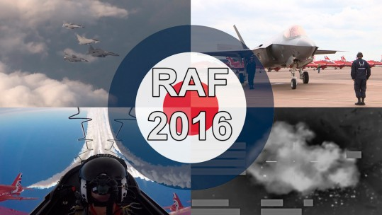 RAF Royal Air Force Review Of The Year 2016