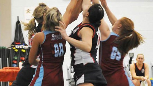 Conclusive Victory for Army Over RAF in Netball Championships
