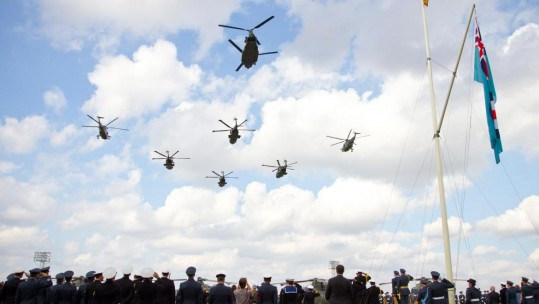 Video Shows Cse Rocking Raf Benson Airshow With Classic