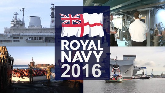 Royal Navy Round Up 2016 Bulwark Lusty Migrants Queen Elizabeth Carrier