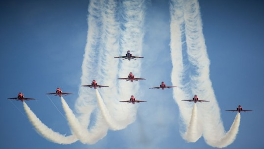 Red Arrows Cleared For 50th Anniversary Take Off