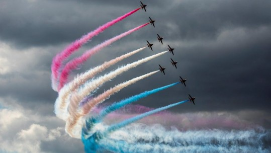 Red Arrows (Picture: Ministry of Defence).