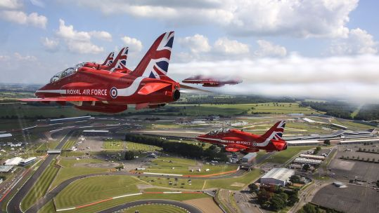 Red Arrows at Silverstone Credit Red Arrows.jpg