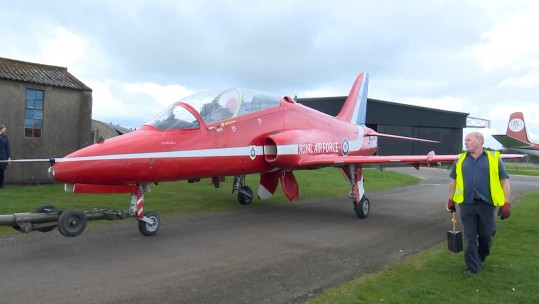 Iconic Red Arrow Hawk T1A To Go On Display