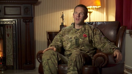 Army Captain Gregg McLeod on Remembrance
