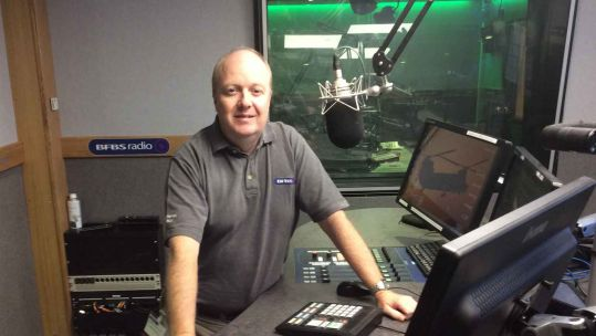 Richard Hutchinson Forces Radio BFBS