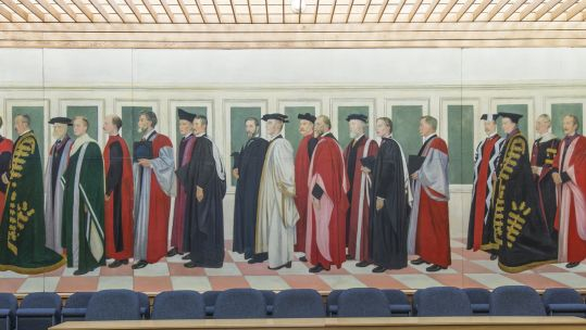 Rothenstein Mural, University of Southampton