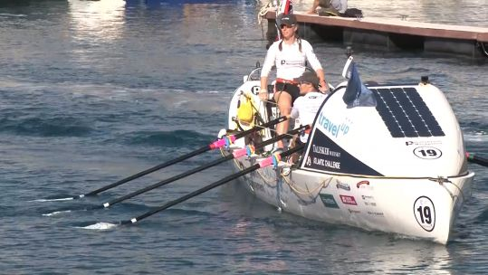 Rowers Begin 3,000-Mile Journey Across The Atlantic