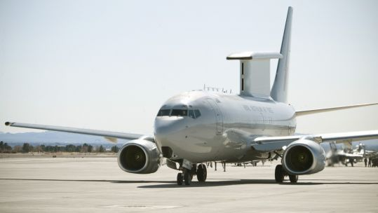 Cover image: A Royal Australian Air Force E-7A at Nellis Air Force Base in Nevada, USA (Picture: US Department of Defense).