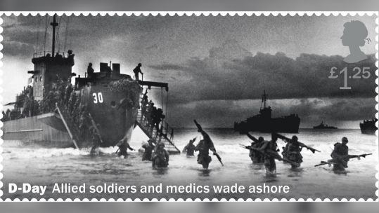 Royal Mail D-Day stamp error