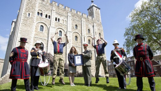Royal Marines Break Guinness World Record
