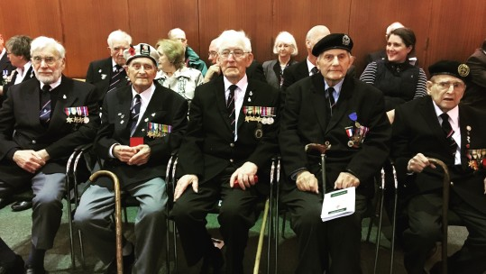 Royal Navy Veterans Awarded Legion D'Honneur