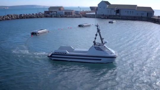 Royal Navy's autonomous mine sweeping system (SWEEP)