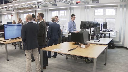 Royal Navy's first digital laboratory 070919 CREDIT BFBS