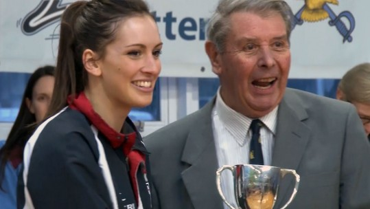 Royal Navy Netballers Celebrate Historic Triumph