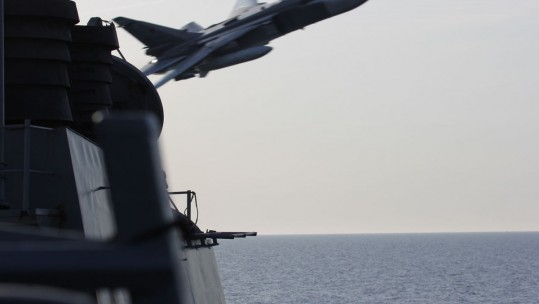 New Footage Of Russian Jets 'Buzzing' USS Donald Cook