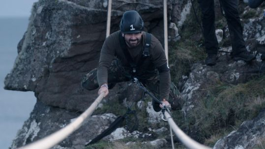 SAS Who Dares Wins 2020 Recruit One James Gorge Crossing Credit Channel 4