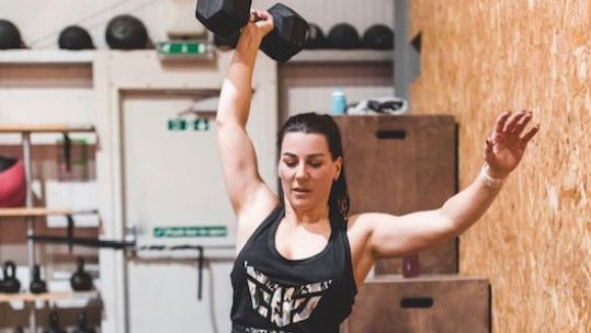 SAS Who Dares Wins Nicola Weights CrossFit Credit: Nicola McGrath