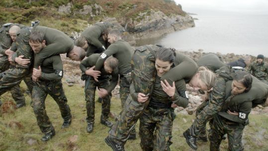 SAS Who Dares Wins 2020 Scotland Special Forces Recruits ONLY USE FOR SAS Who Dares Wins articles Credit Channel 4