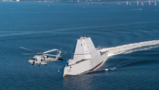Meet USS Zumwalt: The US Navy's Most Advanced Warship