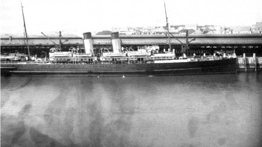 First World War casualty ship