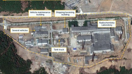 Satellite images may show reprocessing activity at North Korea nuclear site_ U.S. researchers Credit CSIS 170419.JPG
