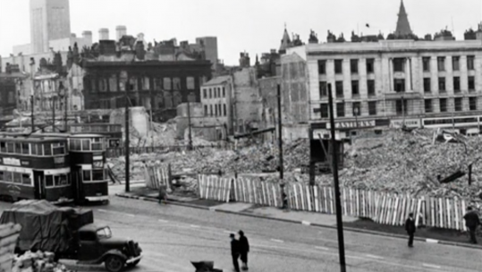Liverpool After The Blitz