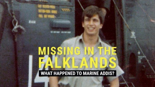 What Happened to Marine Alan Addis - Missing In The Falklands