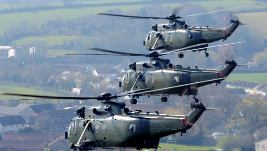 Royal Navy Sea Kings