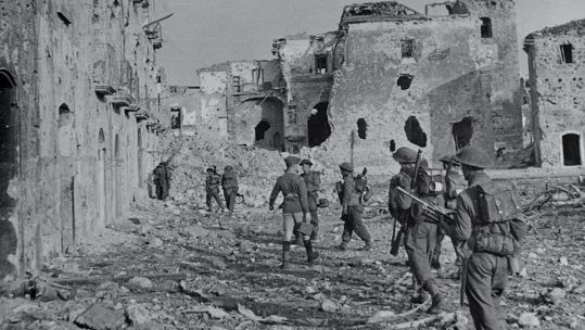Second Battalion Lancashire Fusiliers in Italy