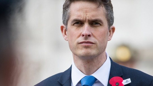 Gavin Williamson (Picture: Crown Copyright).