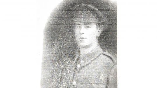 Sgt Charles Woolley joined the Army in 1914 cropped with white background DATE UNKNOWN CREDIT JOSHUA WHITEHEAD
