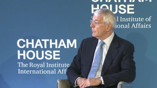 Sir John Major Credit BFBS 130619