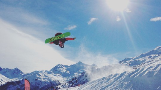 Meribel's Snowboarders Save The Best For Last